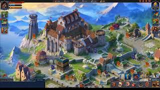 Онлайн игра.СекретыThrone:Kingdom at War зарабатывай играя.Обзор игры!