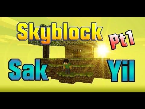 "Skyblock - Minecraft - Sak feat Yil ""Somos topros! xD"""