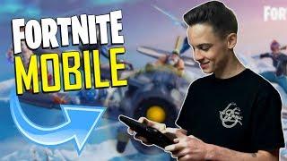 FAST MOBILE BUILDER on iOS / 770+ Wins / Fortnite Mobile + Tips & Tricks!