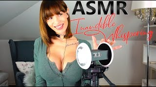 ASMR Sensitive Inaudible Whispering to Fall Asleep : unintelligible Whisper Ear to Ear