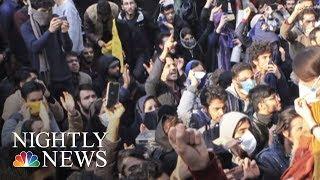 Iran Protests Grow Deadlier | NBC Nightly News