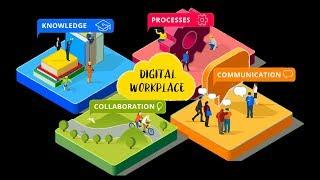 Schaffe Voraussetzungen für einen digitalen Arbeitsplatz und Kollaboration!