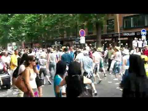 gay pride paris 2010 danse de rue vs danse de salon youtube. Black Bedroom Furniture Sets. Home Design Ideas
