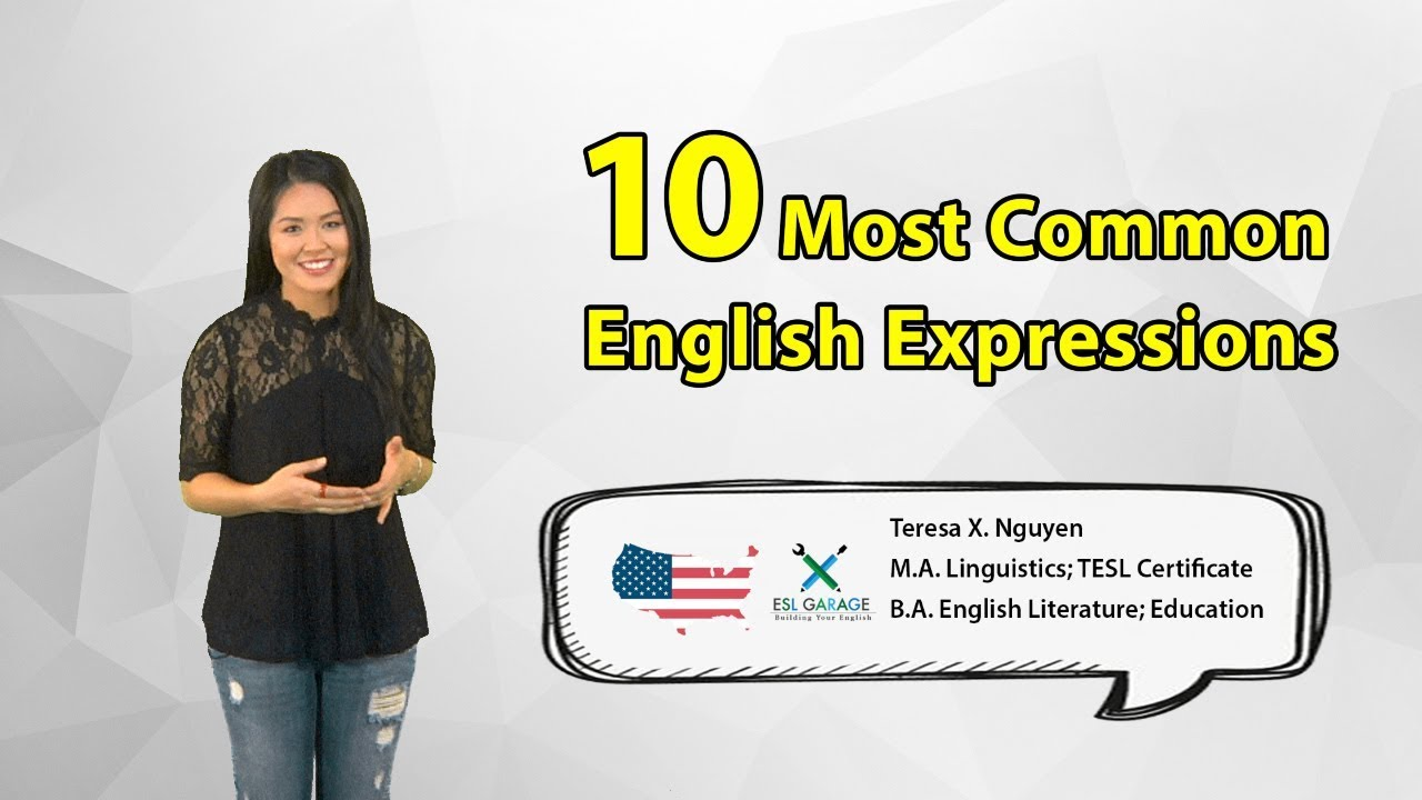 Most Common English Greetings Expressions American English