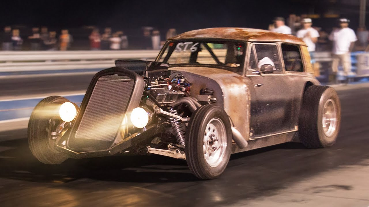 Old Chevy Cars >> Home Built NITROUS Rat-Rod! - YouTube