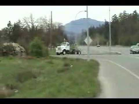 Exiting Off Highway With Detroit Diesel 6L71