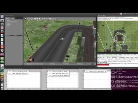 ArduCopter Gazebo simulation - bug of rangefinder with heightmap by  Aurélien Roy on YouTube