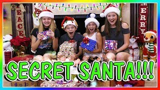 SECRET SANTA GIFT EXCHANGE with TAYLOR & VANESSA | We Are The Davises