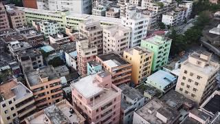 Dafen Village in Shenzhen, China, from above!!