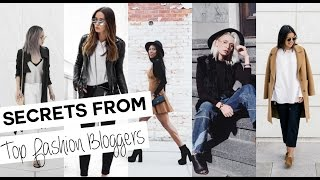 Interview Secrets from Top Fashion Bloggers | BLOG ISTIANA