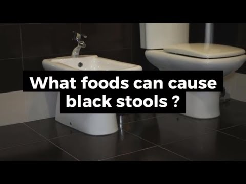 What Food Can Cause Black Stools Reason For Dark
