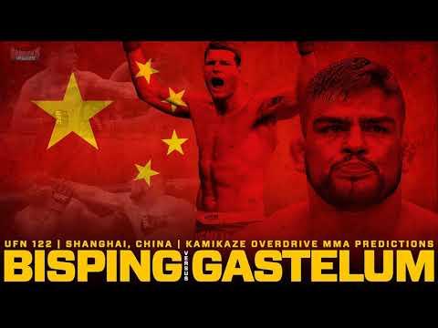 UFC Fight Night 122: Bisping vs Gastelum- Predictions Kamikaze Overdrive MMA
