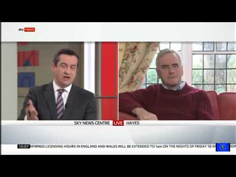 John McDonnell: austerity must end, but Labour still believes in Brexit unicorns
