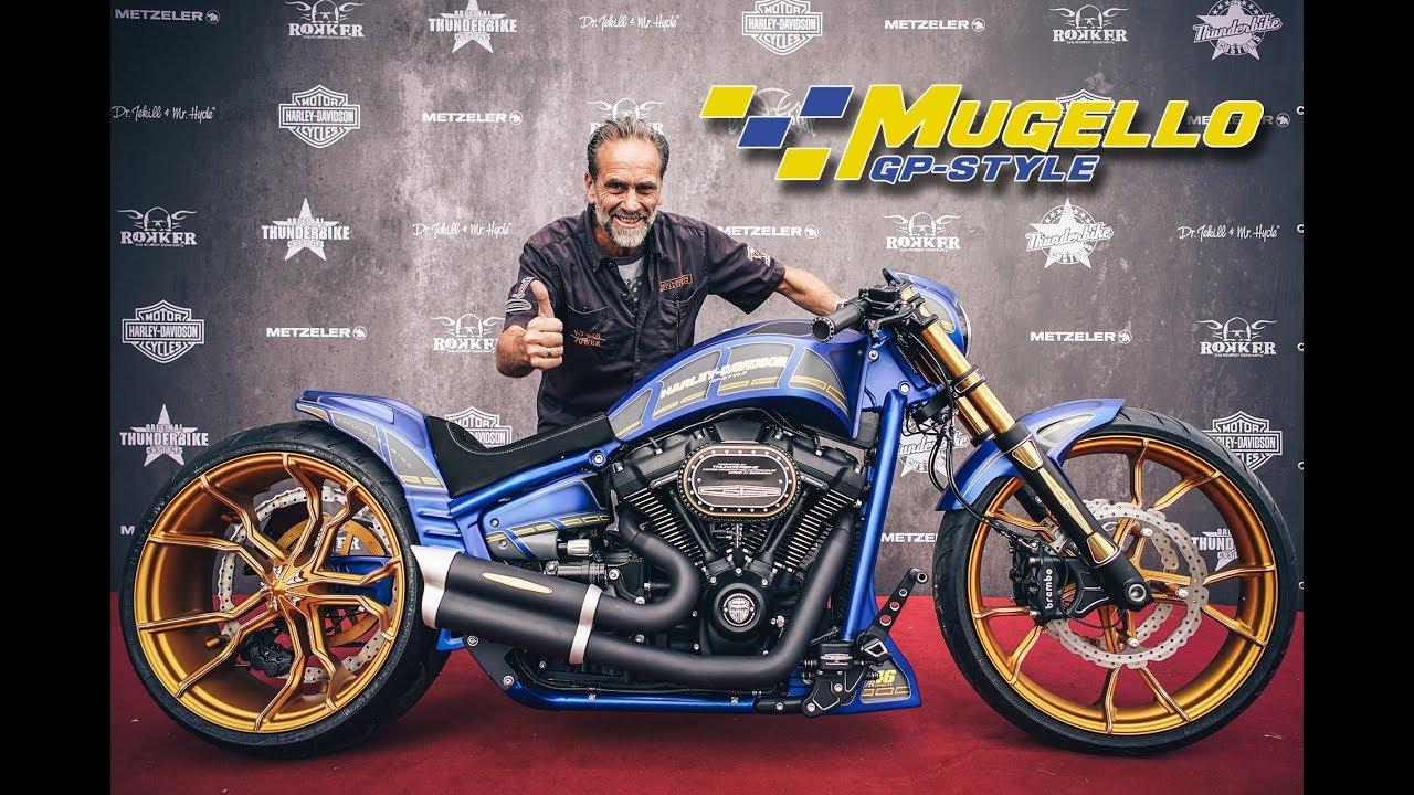 2018 Harley Davidson Breakout >> Mugello - The Making Of by Thunderbike Harley-Davidson - YouTube