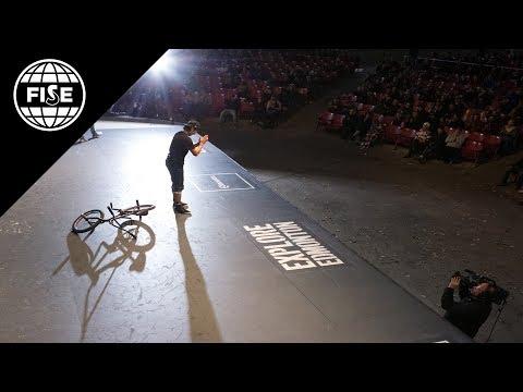 FISE EDMONTON 2017: BMX Freestyle Flat Pro Final - REPLAY