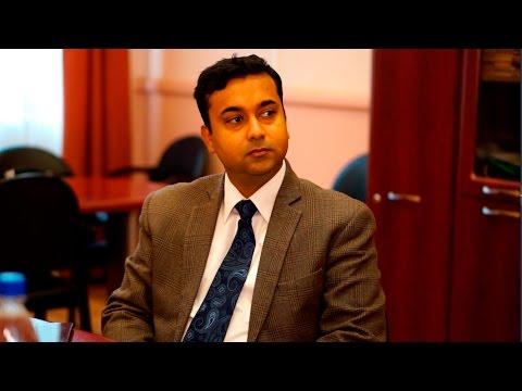 Встреча ректора исоветника посольства Индии