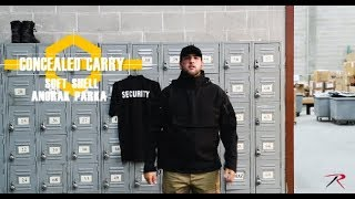 Rothco's Soft Shell Concealed Carry Anorak Parka