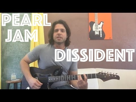 Guitar Lesson: How To Play Dissident By Pearl Jam!
