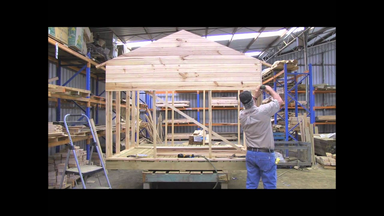 How To Build A Cubby House Cladding Part 3 Youtube