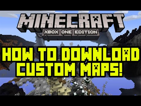 HOW TO DOWNLOAD MY HUNGER GAMES MAP AND OTHER CUSTOM MAPS - MINECRAFT XBOX