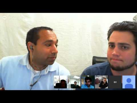 Video Chat with the Technical Directors of RobotX 5/29/14