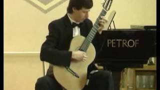 J.S.Bach - Suite for Lute No. 1 in E Minor. BWV996. Prelude.