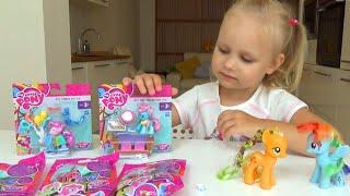 Мои маленькие пони сюрпризы и наборы пони My little pony play set for kids pony toy