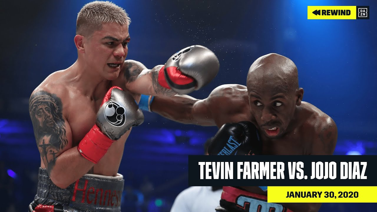 Full Fight Tevin Farmer Vs Joseph Diaz Jr Dazn Rewind Youtube
