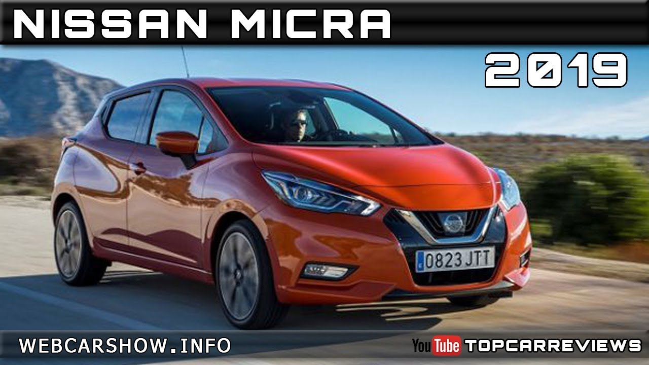 2019 nissan micra review rendered price specs release date