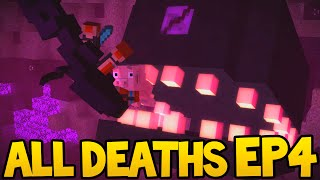 Minecraft Story Mode - ALL DEATH SCENES - Episode 4