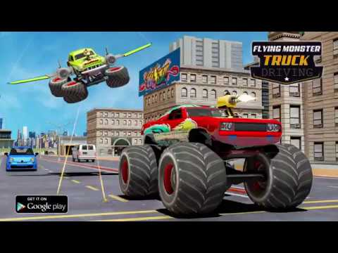 Flying Monster Truck for PC (2020) - Free Download For Windows And Mac