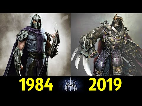 👿 Шреддер - Эволюция (1984 - 2019) ! Все Появления Ороку Саки 👊!