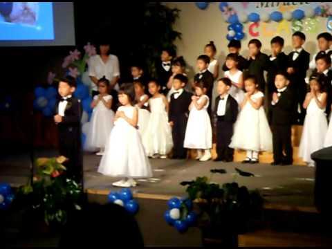 Heaven's graduation of Miracle land preschool part 1