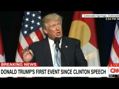 "Donald Trump ""CNN! You Know They Call It The CLINTON NEWS NETWORK!"""