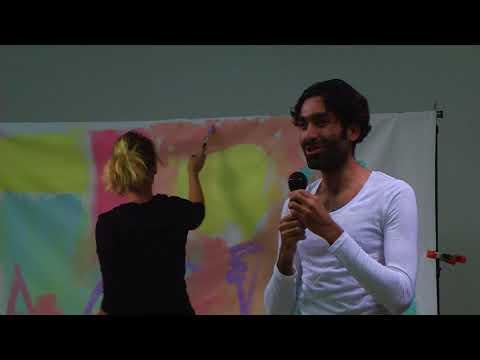Jacob Rafati and Kat Culture - Performers, artist, painter  9 30 2017