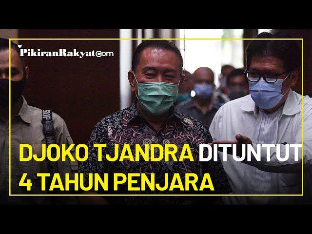 Terpidana Cessie Bank Bali Djoko Tjandra Dituntut 4 Tahun Penjara dan Denda Rp100 Juta