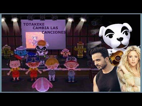 Animal Crossing NLWA | Luis Fonsi, Shakira y mucho mas... Totakeke cambia las canciones
