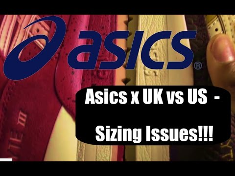 Asics US Vs UK Sizing Problems!! Asics Gel Lyte 3 - Strawberries And Cream