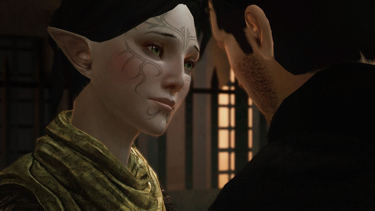 Dragon age 2 merrill romance