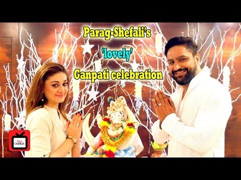 #GaneshChaturthiSpl: Parag-Shefali's 'lovely' Ganpati celebration | Interview| Tellychakkar