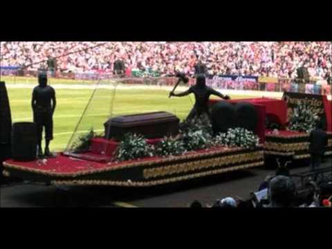 Funeral chavo del 8 en el estadio azteca en vivo yo te extra�are cancion