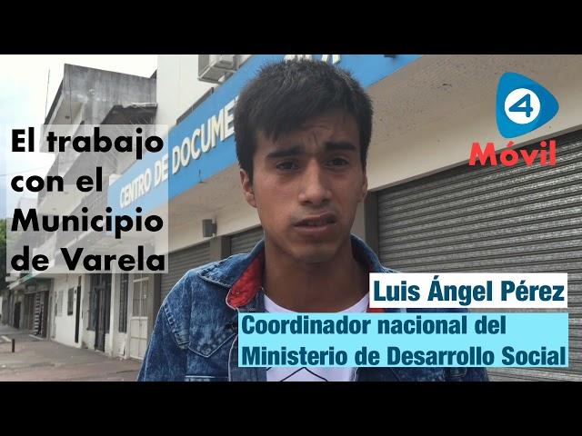 Entrevista a Luis Ángel Pérez, coordinador de abordaje territorial de Desarrollo Social de la Nación