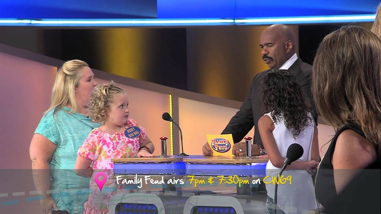 Celebrity family feud cake boss
