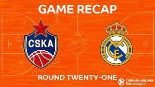 Highlights: CSKA Moscow - Real Madrid