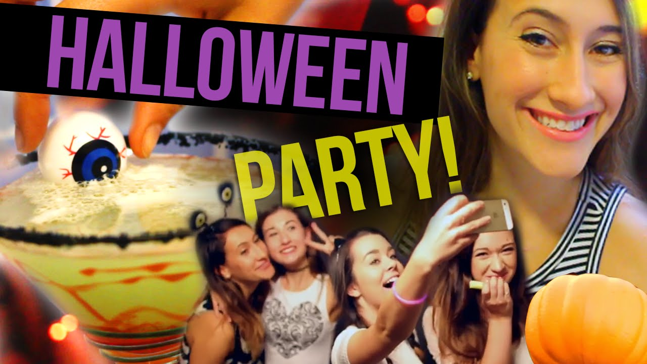 diy halloween party collab w maybaby macbby and