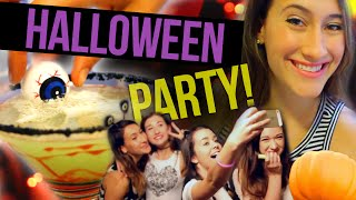 DIY Halloween Party: Cocktails, Decor & More! (Collab w/ MayBaby, Macbby, and SierraMarieMakeup) Thumbnail