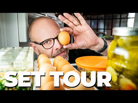 GOOD EATS: THE RETURN SET TOUR 🎥 Behind-the-Scenes With Alton Brown!