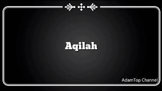 (Lirik Video) Aqilah - Floor 88
