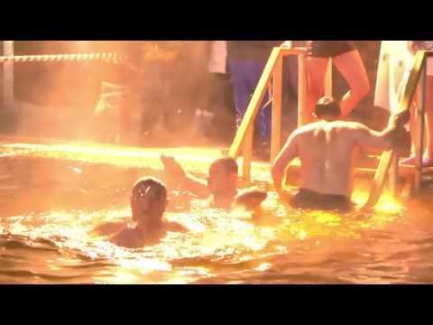 Крещение в селе Русском. 19 января 2015 года.