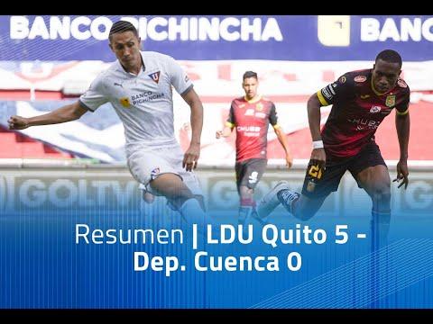 LDU Quito Dep. Cuenca Goals And Highlights